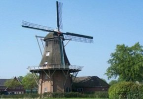 molen in Norg